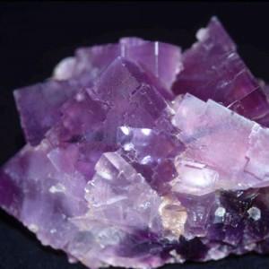 Đá Fluorit-Đá Thạch Anh Tím